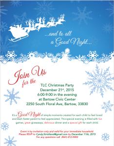 TLC Christmas Flyer 2015